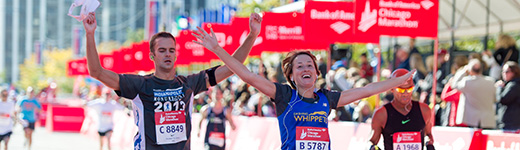 2014 Chicago Marathon - Finish Line Race Day-507