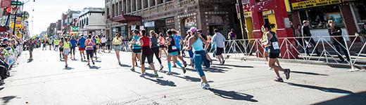 Bank of America Chicago Marathon runners