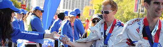 Bank of America Chicago Marathon runner refresh