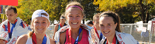 Bank of America Chicago Marathon finishers