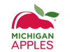 Michigan Apples logo