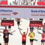 Finish Line 2008 Bank of America Chicago Marathon Finish Line