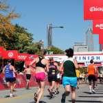 Nearing the Finish Line Runners nearing the Finish Line