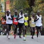 Elite Athletes near Mile 5 Elite Athletes near Mile 5