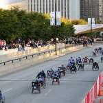 Wheelchair Start 2009 Bank of America Chicago Marathon Wheelchair Start