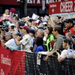 Cheer Zone Near the half way point spectators cheer on participants at the Bank of America Cheer Zone.