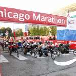 Bank of America Chicago Marathon start line