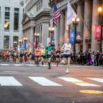 Runners on LaSalle St.