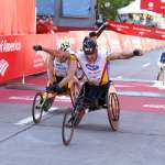 Men wheelchair champion