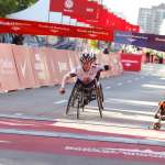 Women Wheelchair champion