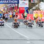 Handcycle start