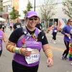Charity runner