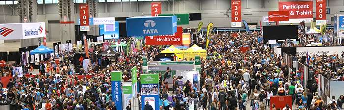 2018 Abbott Health & Fitness Expo Exhibit Hall