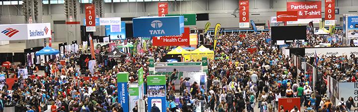 2018 Abbott Health & Fitness Expo Exhibit Hall