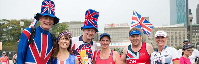 Runners from Great Britain