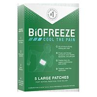 Biofreeze patch