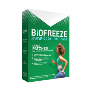 Biofreeze large patch